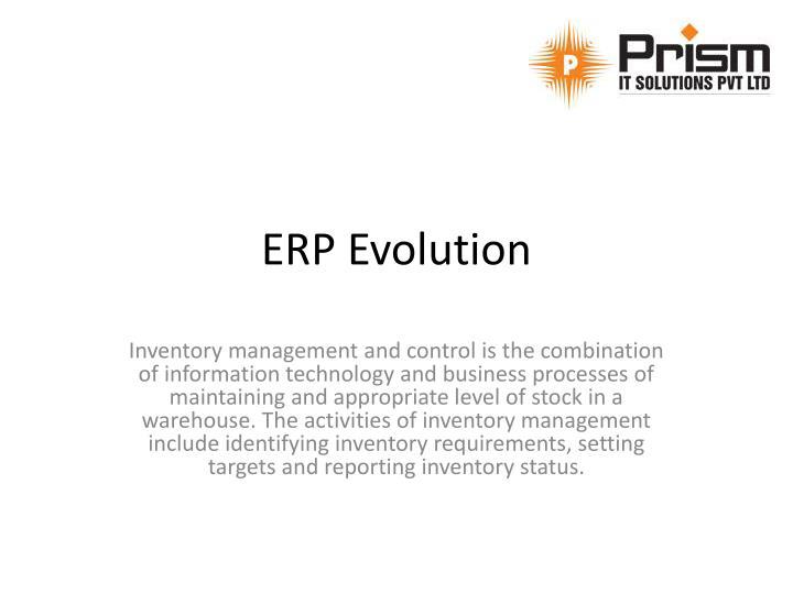 ERP Evolution