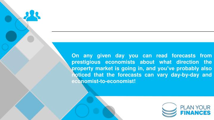 On any given day you can read forecasts from