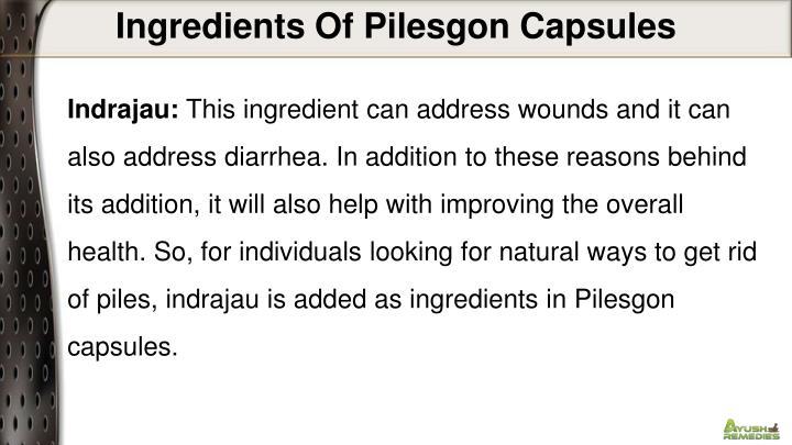 Ingredients Of