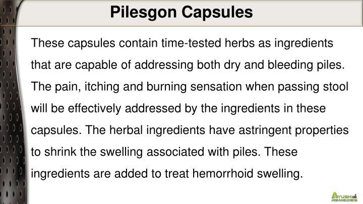 Pilesgon