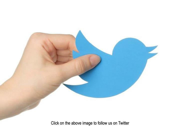 Click on the above image to follow us on Twitter