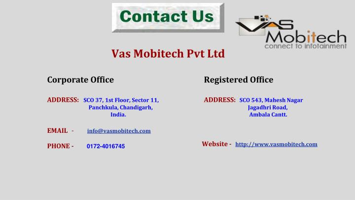 Vas Mobitech Pvt Ltd