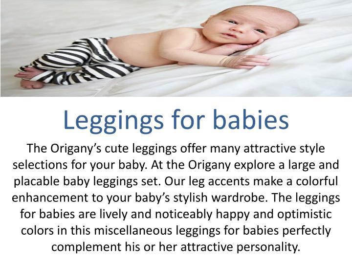 Leggings for babies