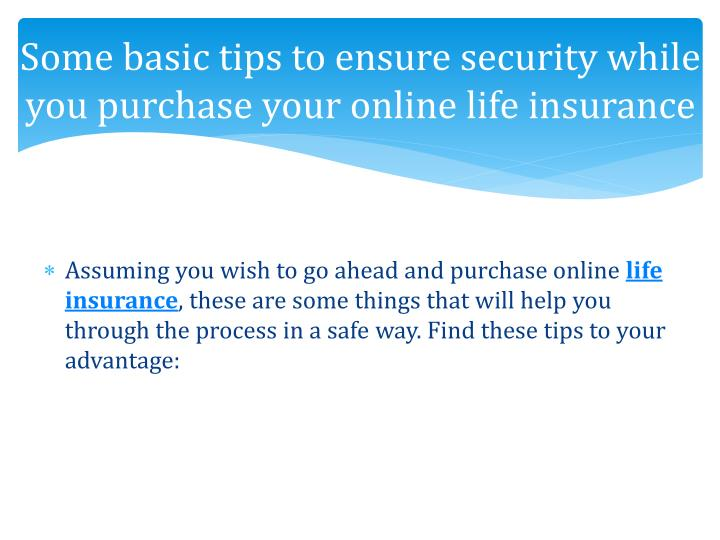 Some basic tips to ensure security while you purchase your online life
