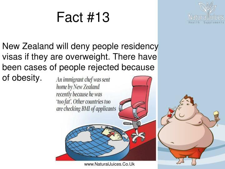 Fact #13