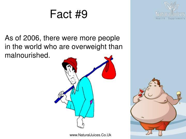 Fact #9