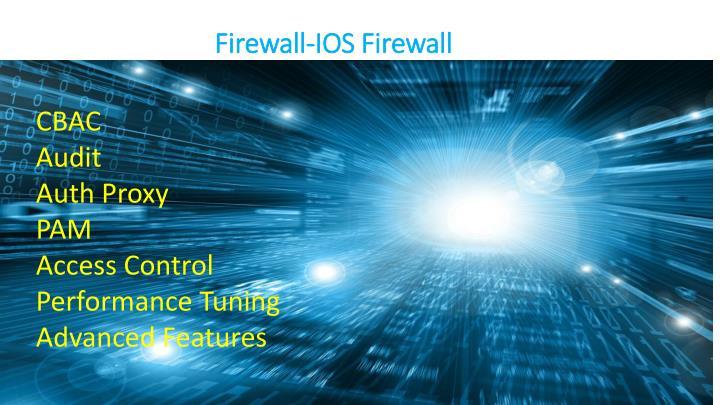 Firewall-IOS Firewall