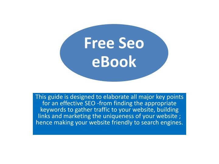 This guide is designed to elaborate all major key points for an effective SEO -from finding the appr...