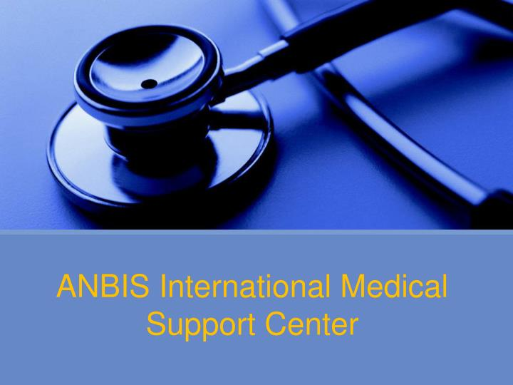 Anbis international medical support center