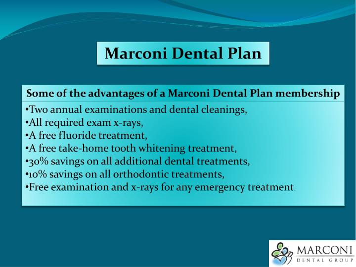Marconi Dental Plan