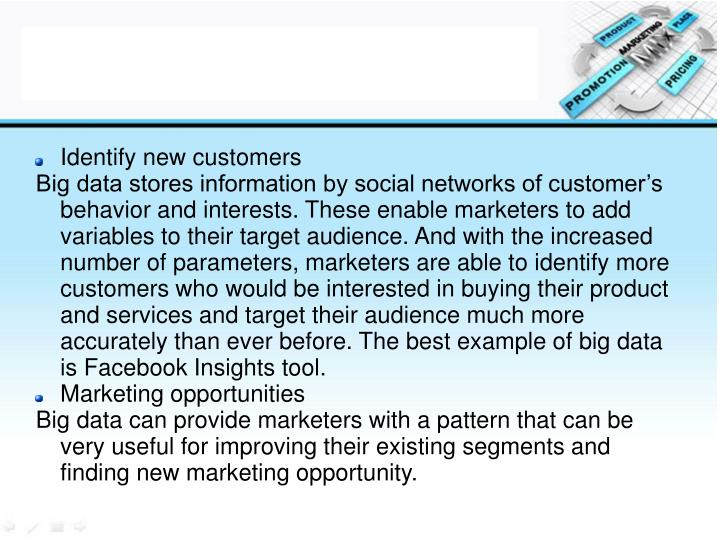 Identify new customers