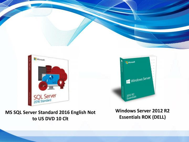 Windows Server 2012 R2 Essentials ROK (DELL)
