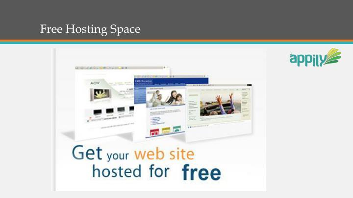 Free Hosting Space