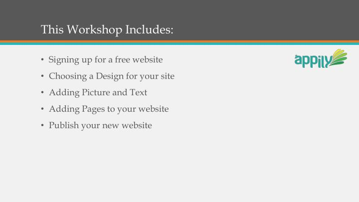 This workshop includes
