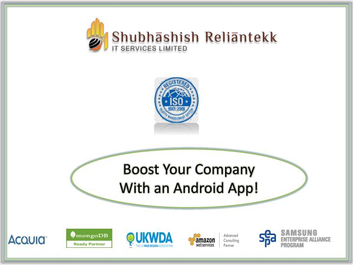 Boost Your Company With an Android App!