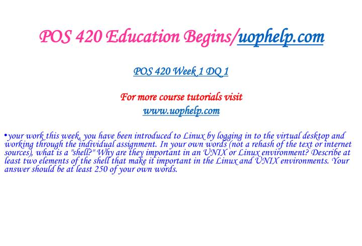 Pos 420 education begins uophelp com2