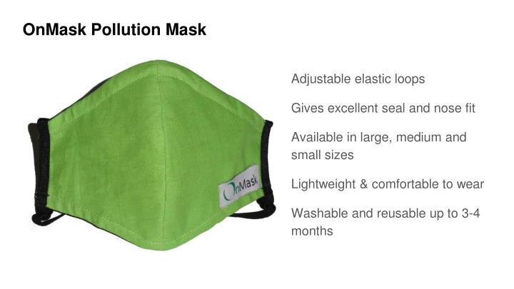 OnMask Pollution Mask