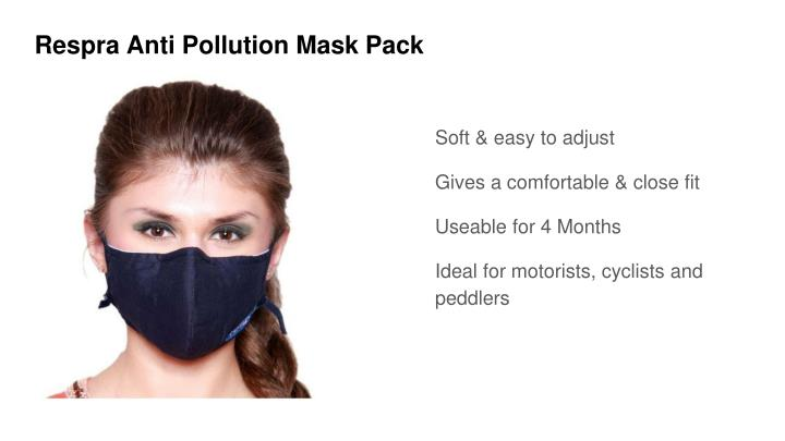 Respra Anti Pollution Mask Pack
