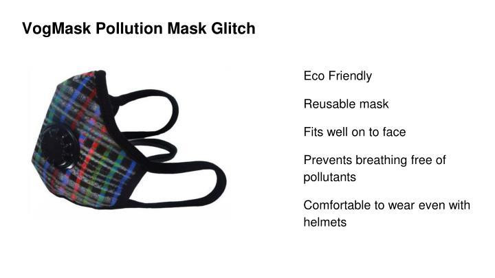 VogMask Pollution Mask Glitch