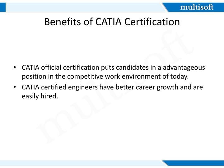 Benefits of CATIA Certification