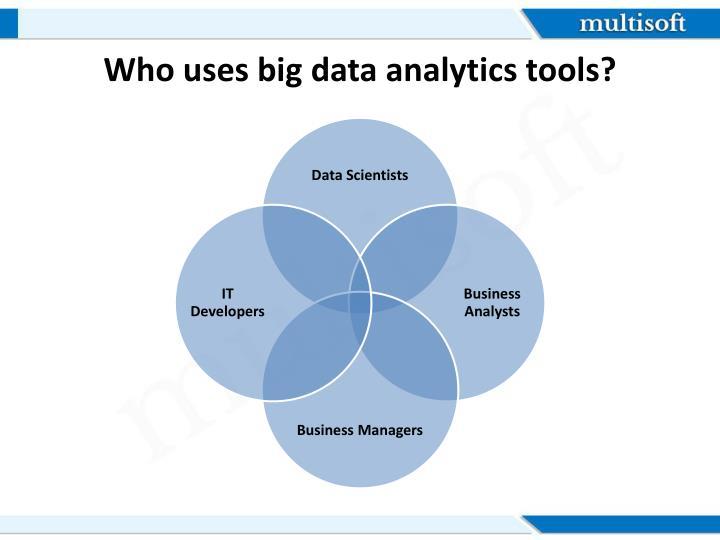 Who uses big data