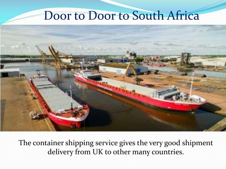 Door to Door to South Africa