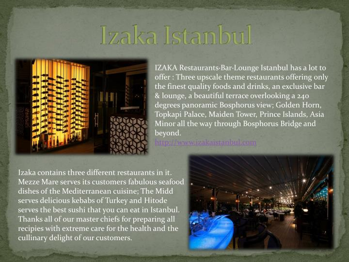 Izaka Istanbul