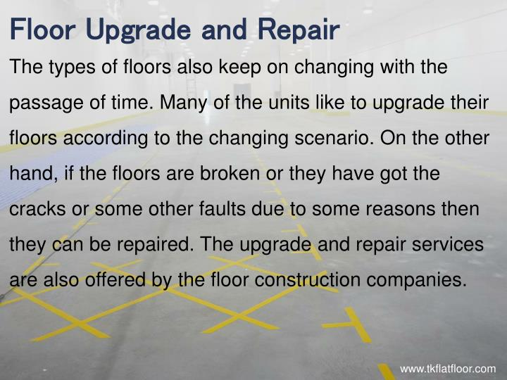 Floor Upgrade and Repair