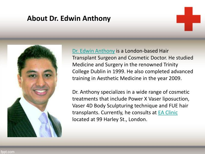 About Dr. Edwin Anthony