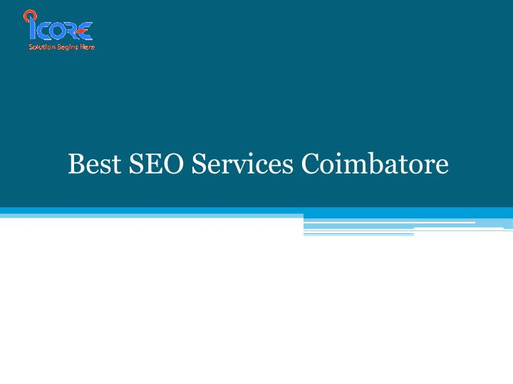 Best seo services coimbatore