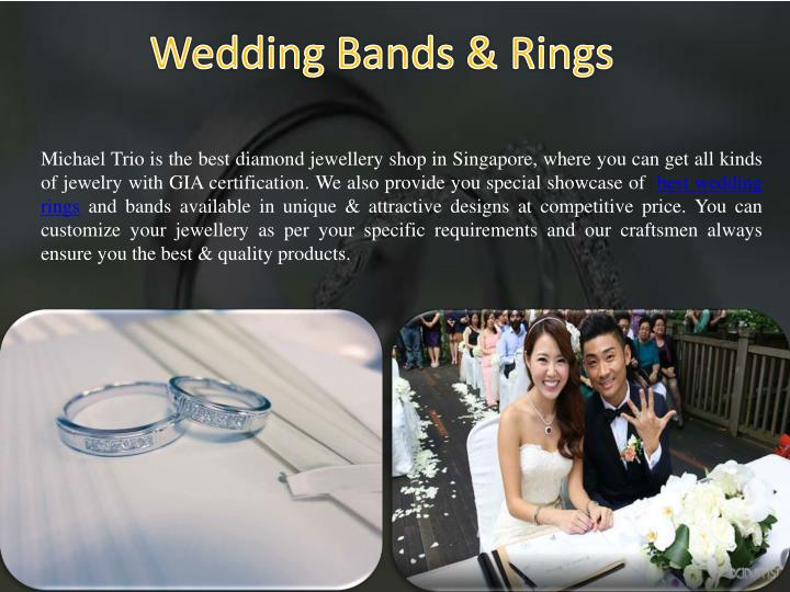 Michael Trio is the best diamond jewellery shop in Singapore, where you can get all kinds