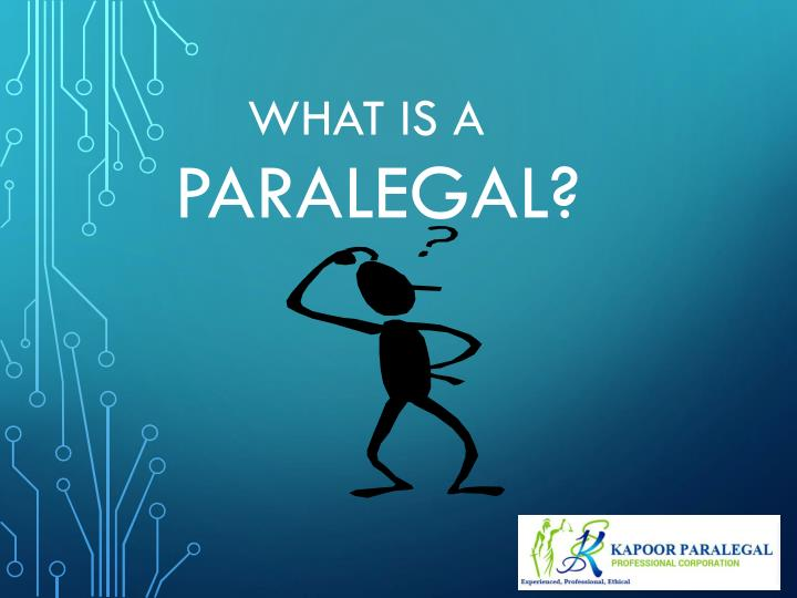 What is a paralegal