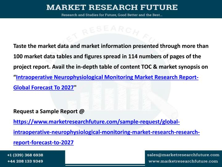 Taste the market data and market information presented through more than 100 market data tables and ...