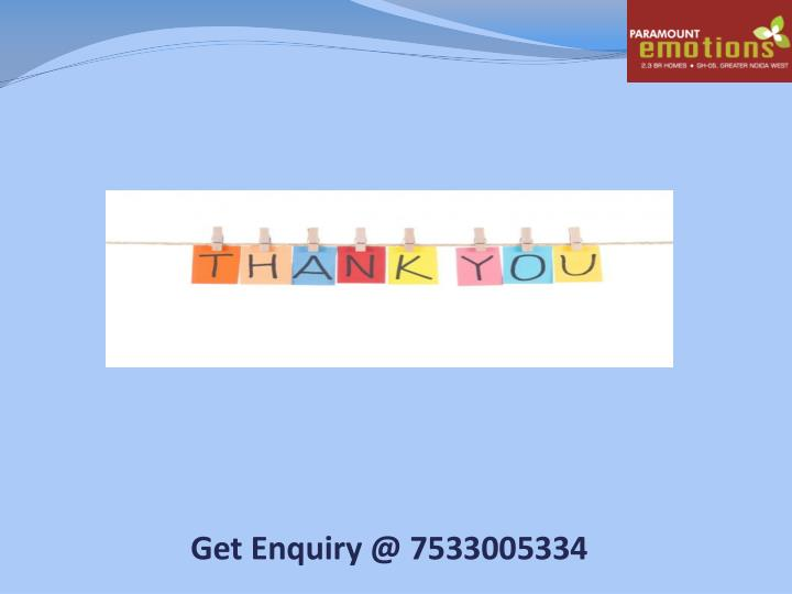 Get Enquiry @ 7533005334