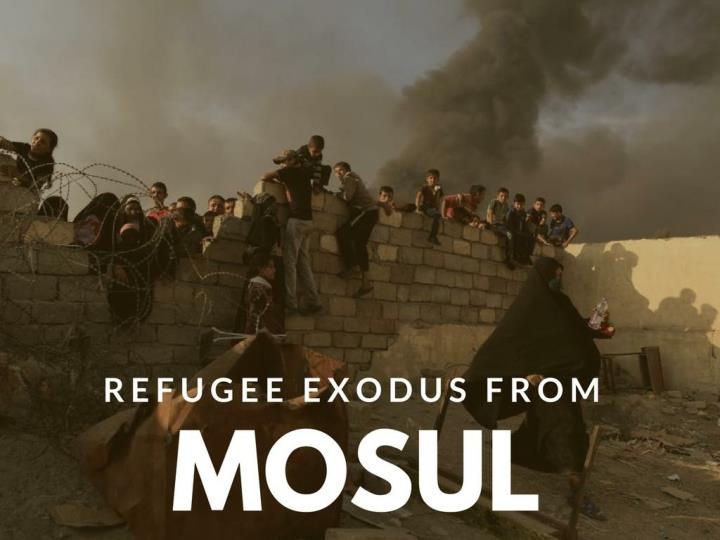 Outcast departure from mosul
