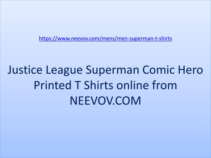 https://www.neevov.com/mens/men-superman-t-shirts