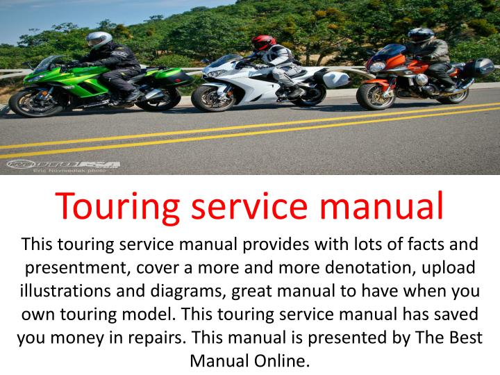 Touring service manual