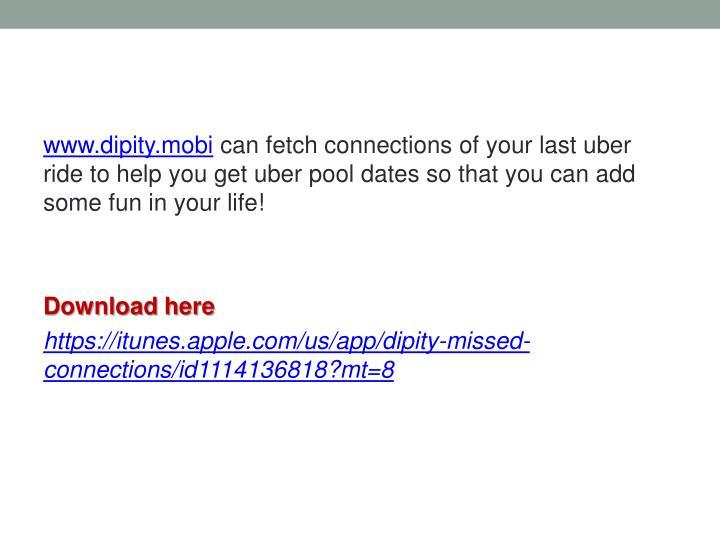 www.dipity.mobi
