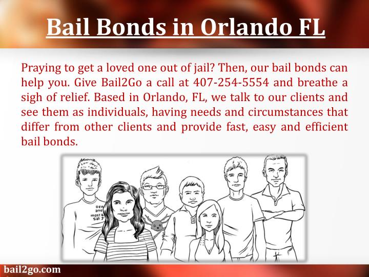 Bail bonds in orlando fl