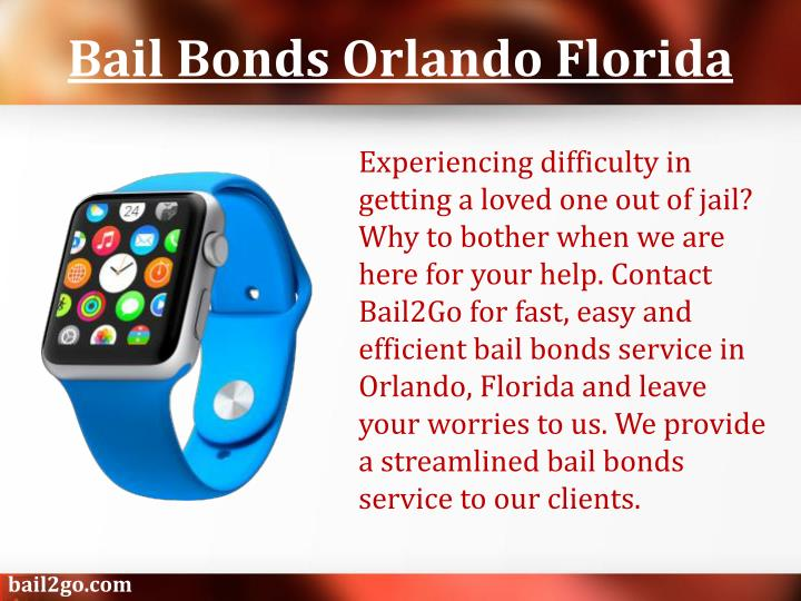 Bail bonds orlando florida