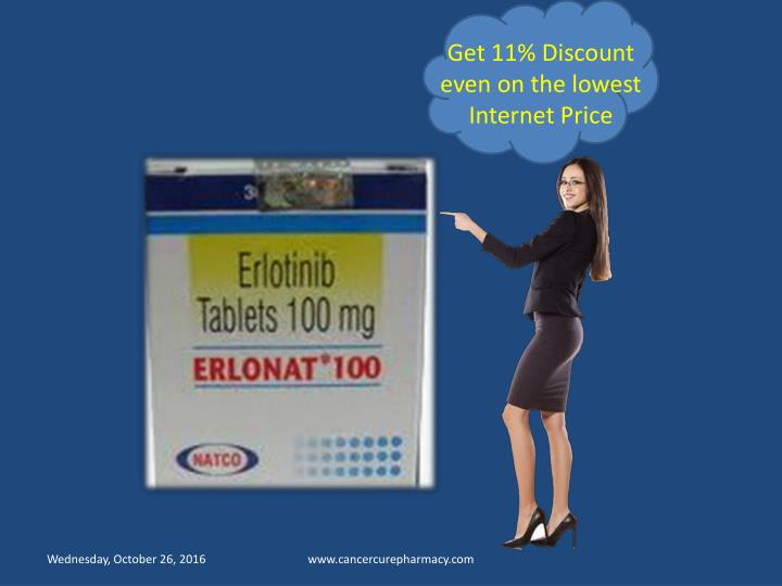 Get 11% Discount even on the lowest Internet Price