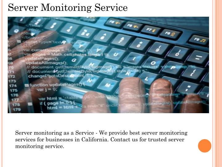 Server Monitoring Service