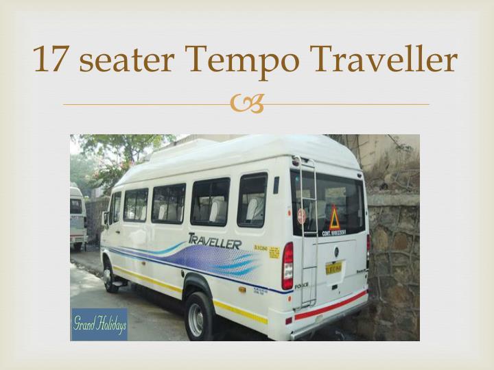 17 seater Tempo Traveller