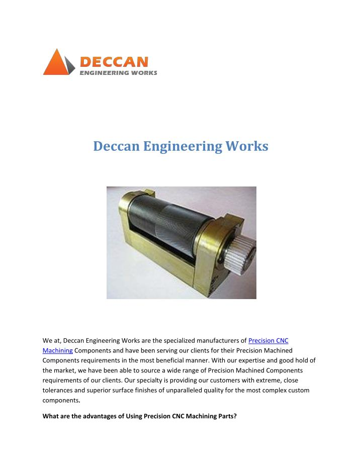 Deccan Engineering Works