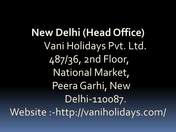 New Delhi (Head Office)