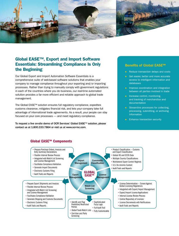 Global EASE: Compliance Solutions for