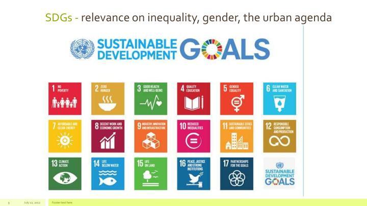 SDGs -