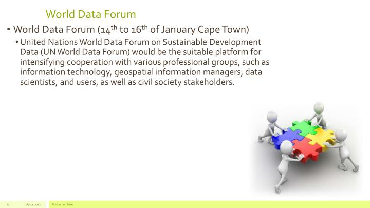 World Data Forum