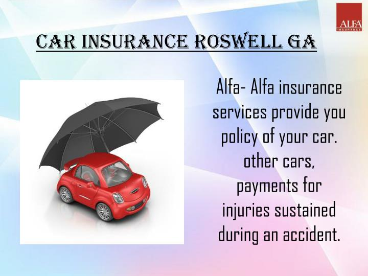 Car Insurance Roswell