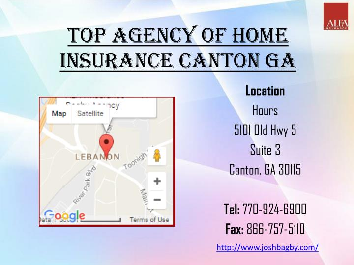 Top Agency Of Home Insurance Canton